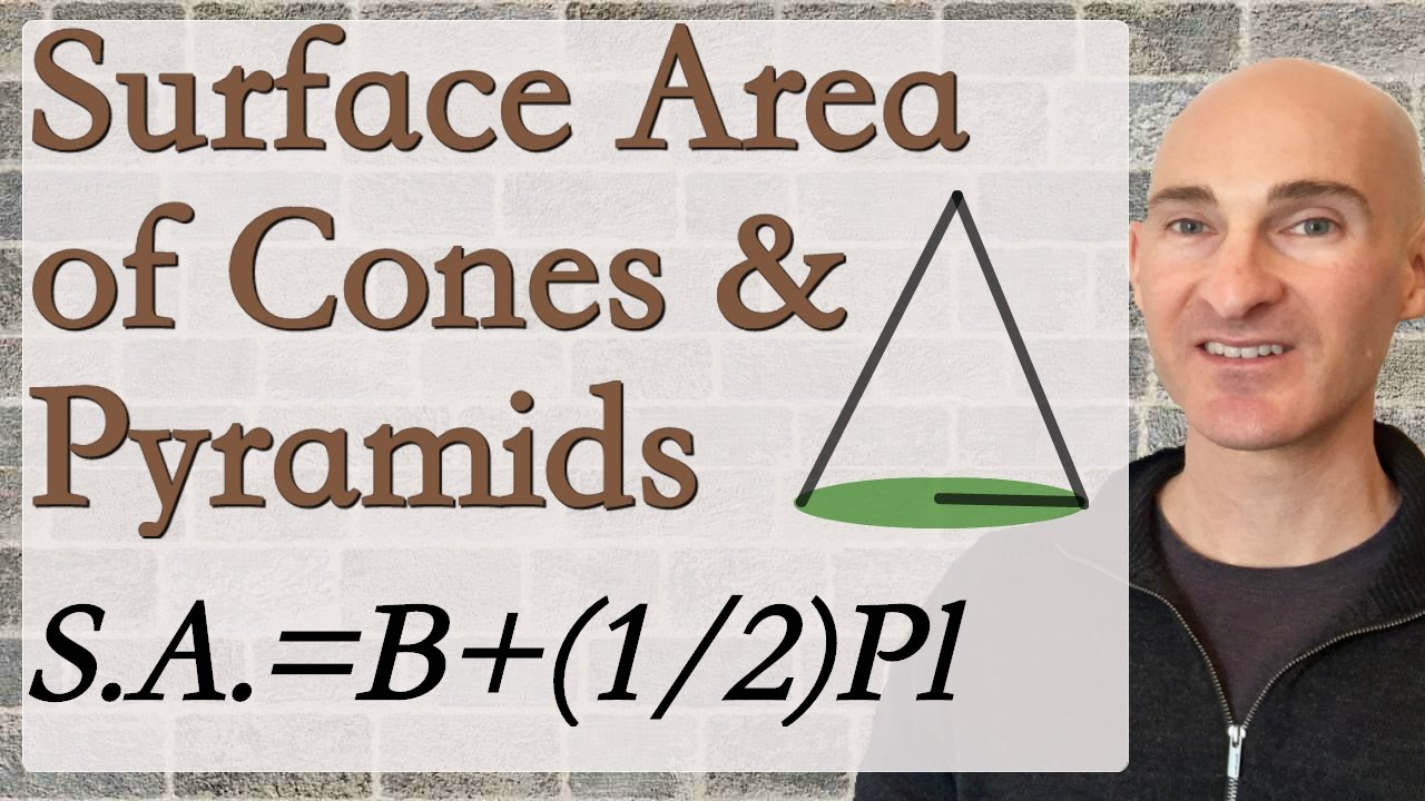 Surface Area Of Cones And Pyramids