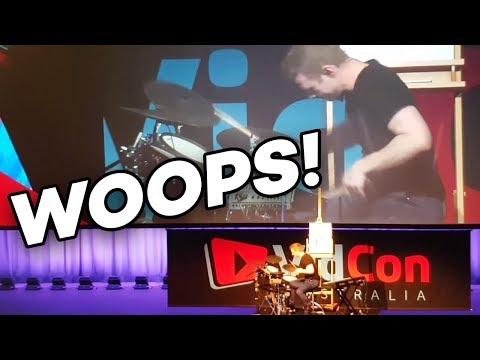 ... My VidCon Performance Didn't go According to Plan!