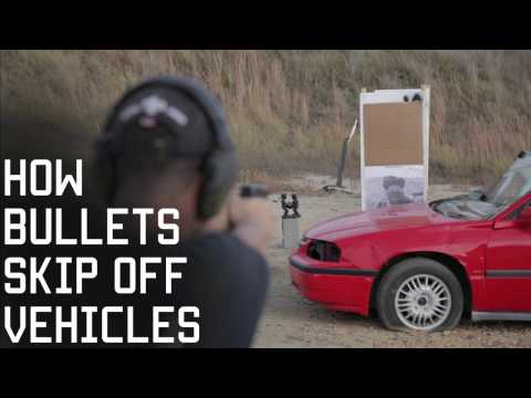 How Bullets skip off Surfaces | Safe Shooting Positions | Tactical Rifleman