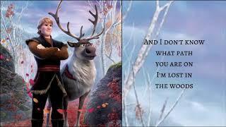 Lost In The Woods   Jonathan Groff  Frozen 2  Lyrics