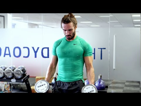 12 Minute Non-Stop Reps Dumbbell Workout | The Body Coach