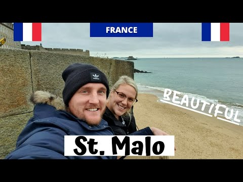 St. Malo is absolutely INCREDIBLE - A historical walled city