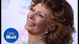 Sophia Loren talks about films old and new at the AFI festival - Daily Mail