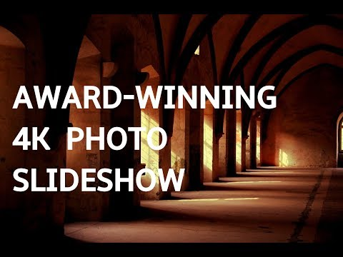AWARD-WINNING PHOTO SLIDESHOW 4K! Beautiful Art Photography Slideshow Screensaver | Silent Scenery