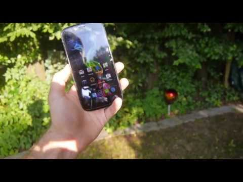 Archos 53 Platinum Display Outdoor Test