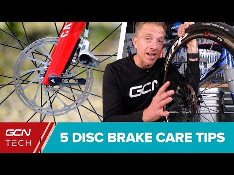 5 Disc Brake Maintenance Tips For Your Road Bike