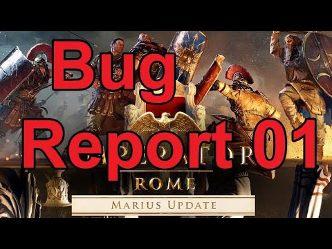 Imperator: Rome Update 2.0 Marius - Bug Report 01 & Feedback |