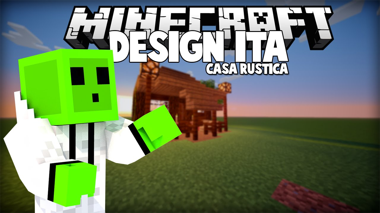 Case Di Montagna Minecraft : Casa rustica minecraft design ita clipzui