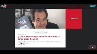 """Entrevista Radio MDZ - """"Programa No tan Millennials"""" - Libro Psicología del Mal"""