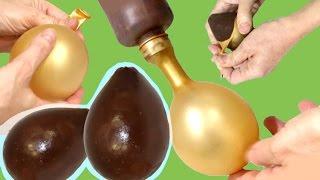 balloon chocolate bowls