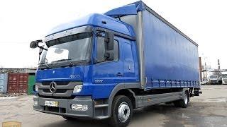Продажа грузового автомобиля Mercedes Atego 1222 L Facelift, полная штора 50м3, гидролифт