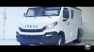 INKAS® Cash In Transit Vehicle based on IVECO Euro Daily 6 DRW