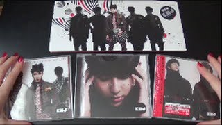 Unboxing Kim Hyung Jun 김형준 (SS501) 1st Korean Mini Album My Girl [All Japan & Taiwan Edition]