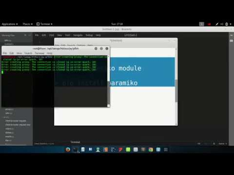 Creating SSH Client with Python