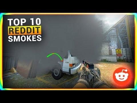 CS:GO REDDIT TOP 10 SMOKES