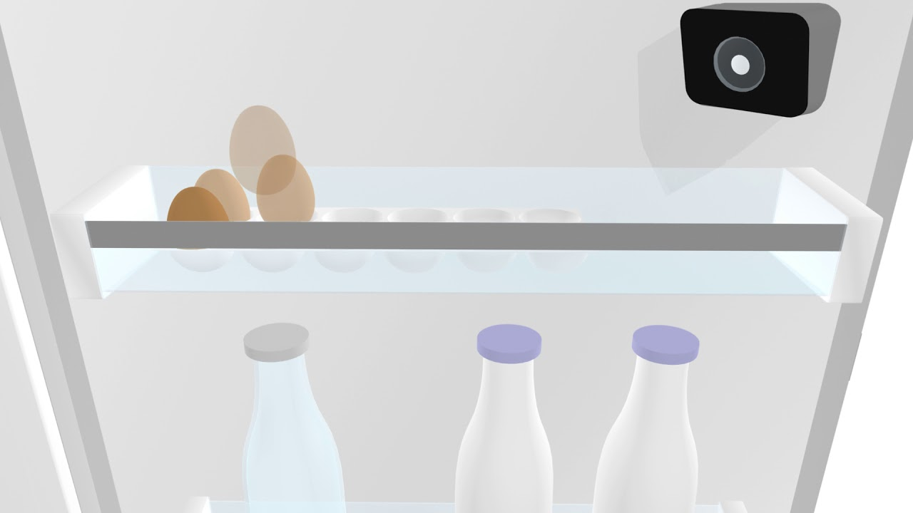 Bosch Home Appliances With Home Connect: Cameras In The Fridge