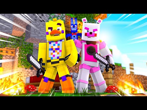 Bon Bon Plays Bed Wars! Minecraft FNAF Roleplay
