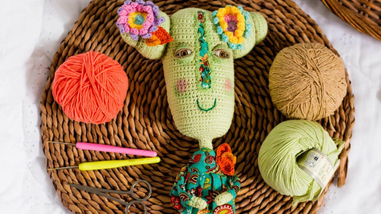 Процесс рождения авторских кукол - вязаные куклы амигуруми LilikSha Doll Amigurumi