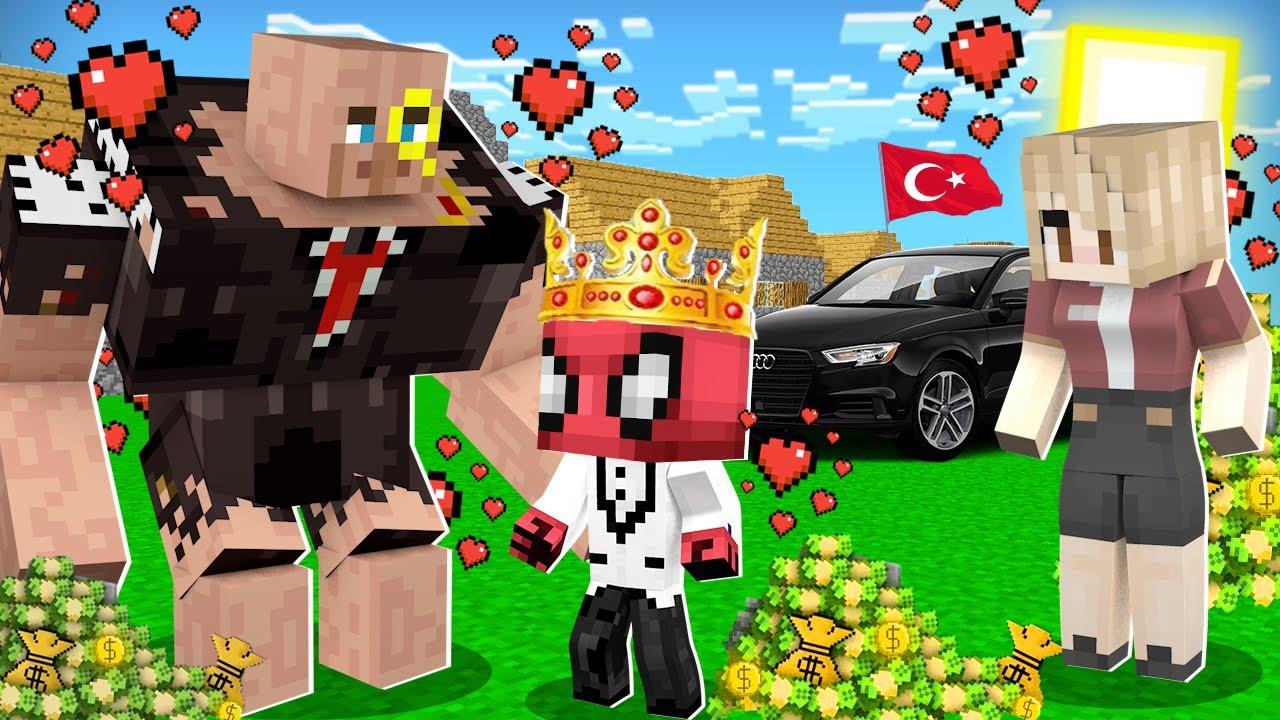 FAKİR VE ZENGİN SIRAYLA ÖLÜYOR! 😱 - Minecraft