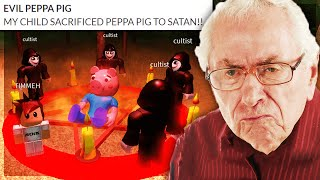 """MY CHILD SACRIFICED PEPPA PIG TO SATAN"".. (Reading Roblox Parent Reviews)"