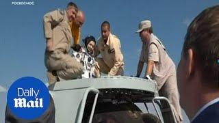 Soyuz space capsule lands in Kazakhstan carrying ISS crew