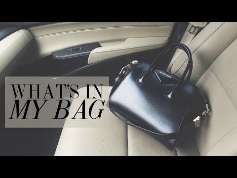 What's In My Bag Givenchy Antigona | HAUSOFCOLOR
