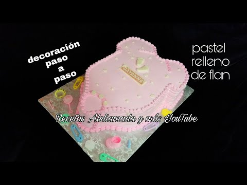 Decoracion de pastel BABY SHOWER