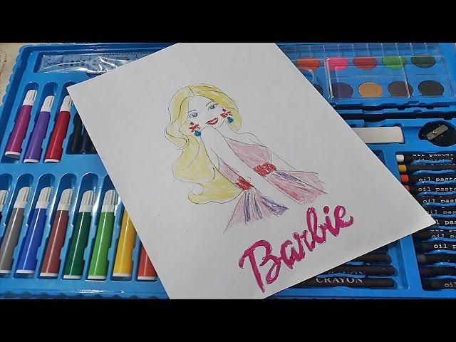 Barbie Boyama Nasil Yapilir Barbie Coloring Youtubedownloadpro