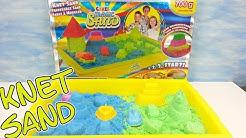 Magic Sand Activity Box von Craze Knet Sand auspacken seratus1