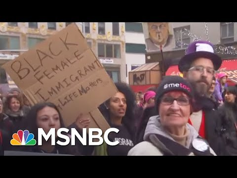 Women's March 2018: NYC, DC, Los Angeles And More | AM Joy | MSNBC