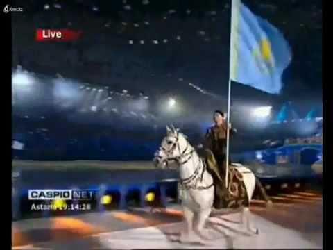 1/6 Opening Asian Winter Games 2011 in Astana Kazakhstan/Kasachstan National Anthem