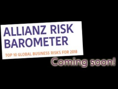 Allianz Risk Barometer 2018 - Preview