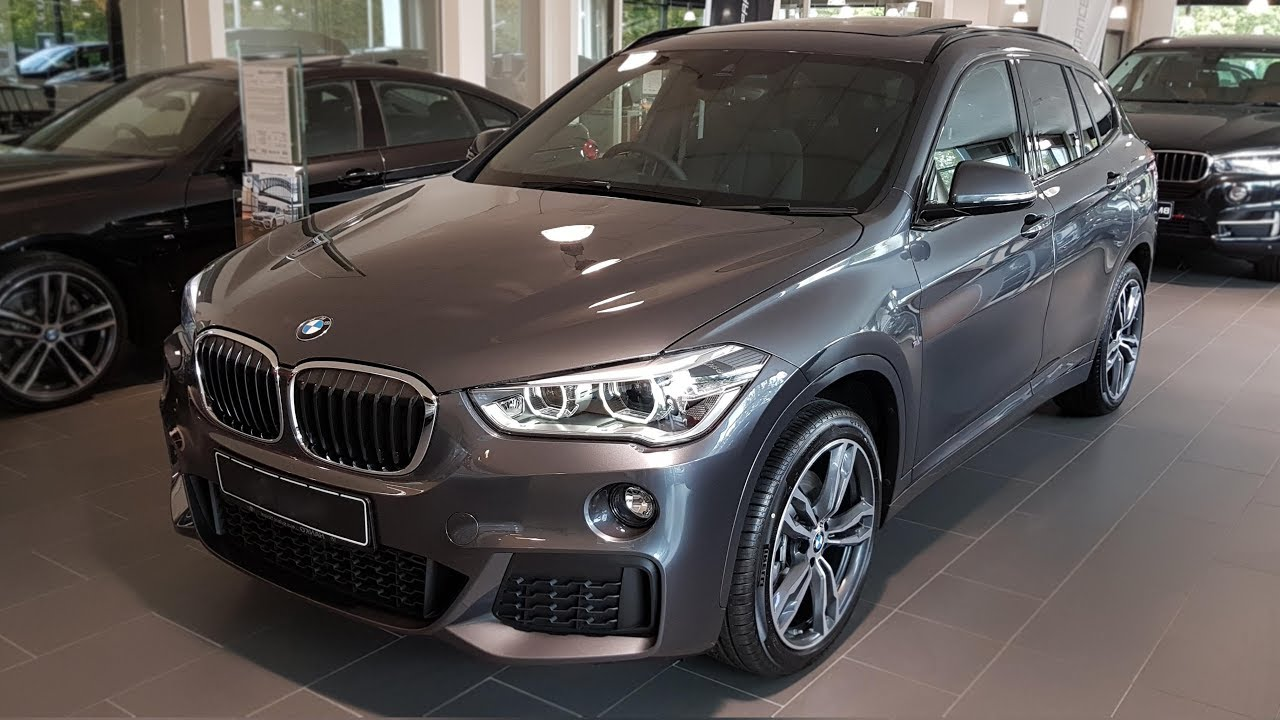 Anthrazit Metallic Bmw 2018 Bmw X1 Xdrive25d Modell M Sport Bmw View