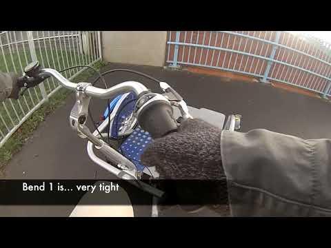 Inclusive cycling on a new shared use bridge, Broadbridge Heath, Horsham