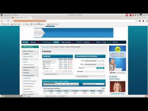Cotacao Automática do Dólar e Euro no LibreOffice Calc