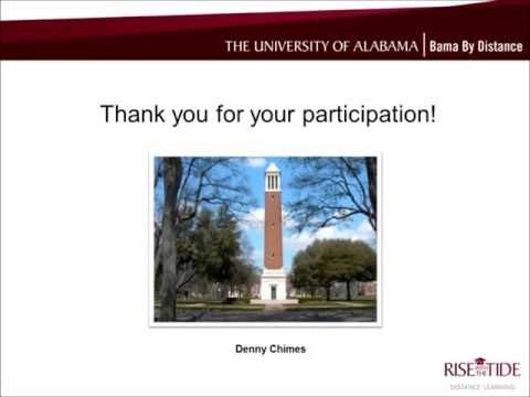 UA's Online EdS in Secondary Education Science
