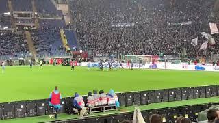 COPPA ITALIA Atalanta-Lazio 0-1 Milinkovic Savic Reazione live