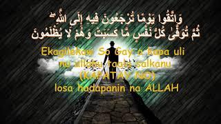 MUHADARA ISLAMIYA:  PAGADILIKA SO GAY A KAPAULI SALKA NU ALLAHU TAALA LOSA HADAPANIN NA ALLAH...