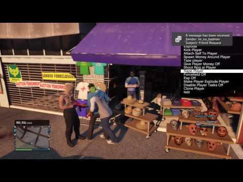 GTA V Online Modding Trolling Squeaky Kids
