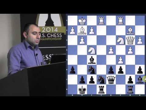 Lenderman vs. Akobian | 2014 U.S. Championship - GM Varuzhan Akobian