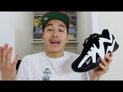 Reebok Kamikaze II Low - Detailed Look   Review - YouTube cb8f2e334