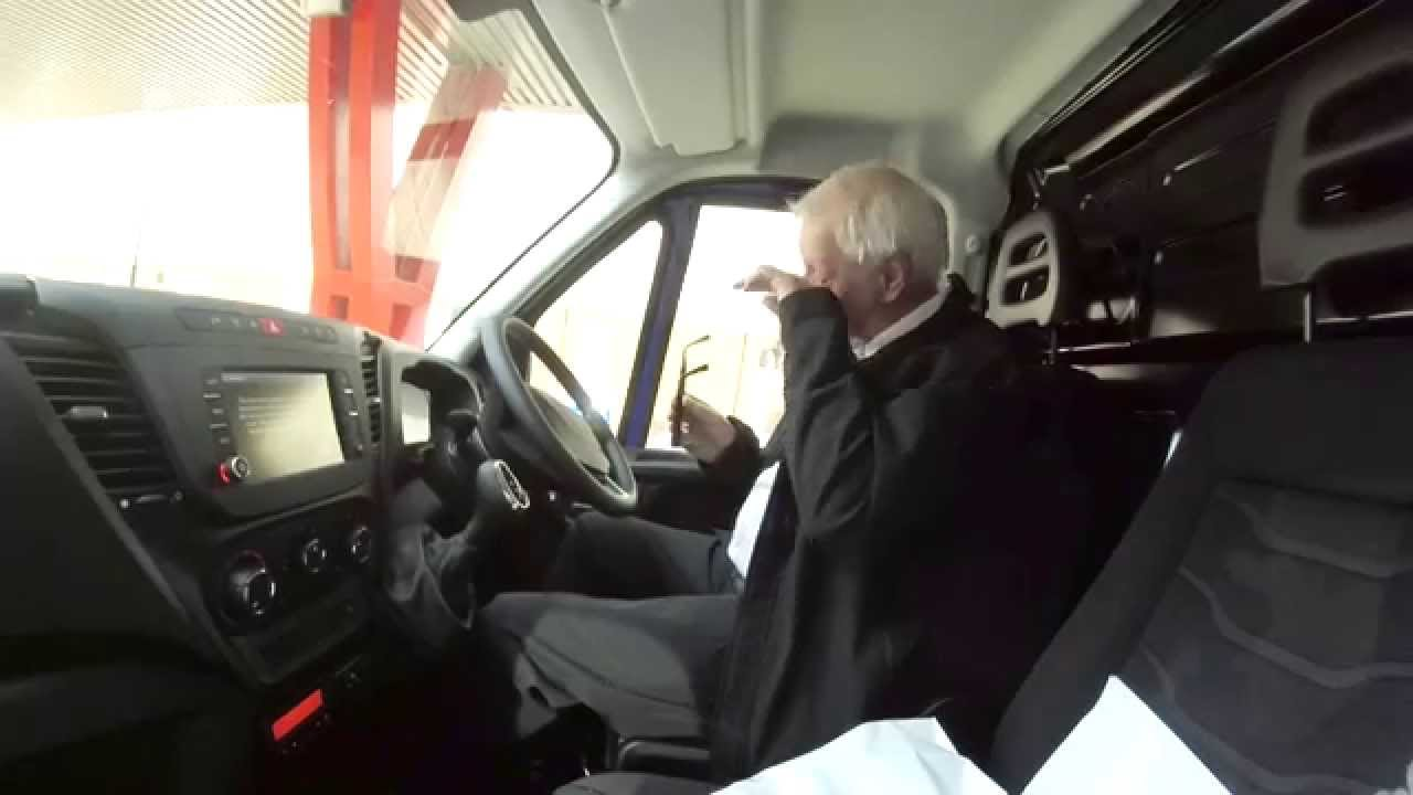 IVECO Daily Hi-Matic test drive