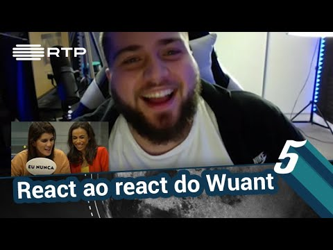 React ao react do Wuant | 5 Para a Meia-Noite | RTP