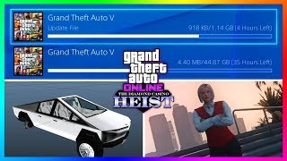GTA 5 Online The Diamond Casino Heist DLC Update - RELEASE TIME! NEW Content Early & Much MORE!