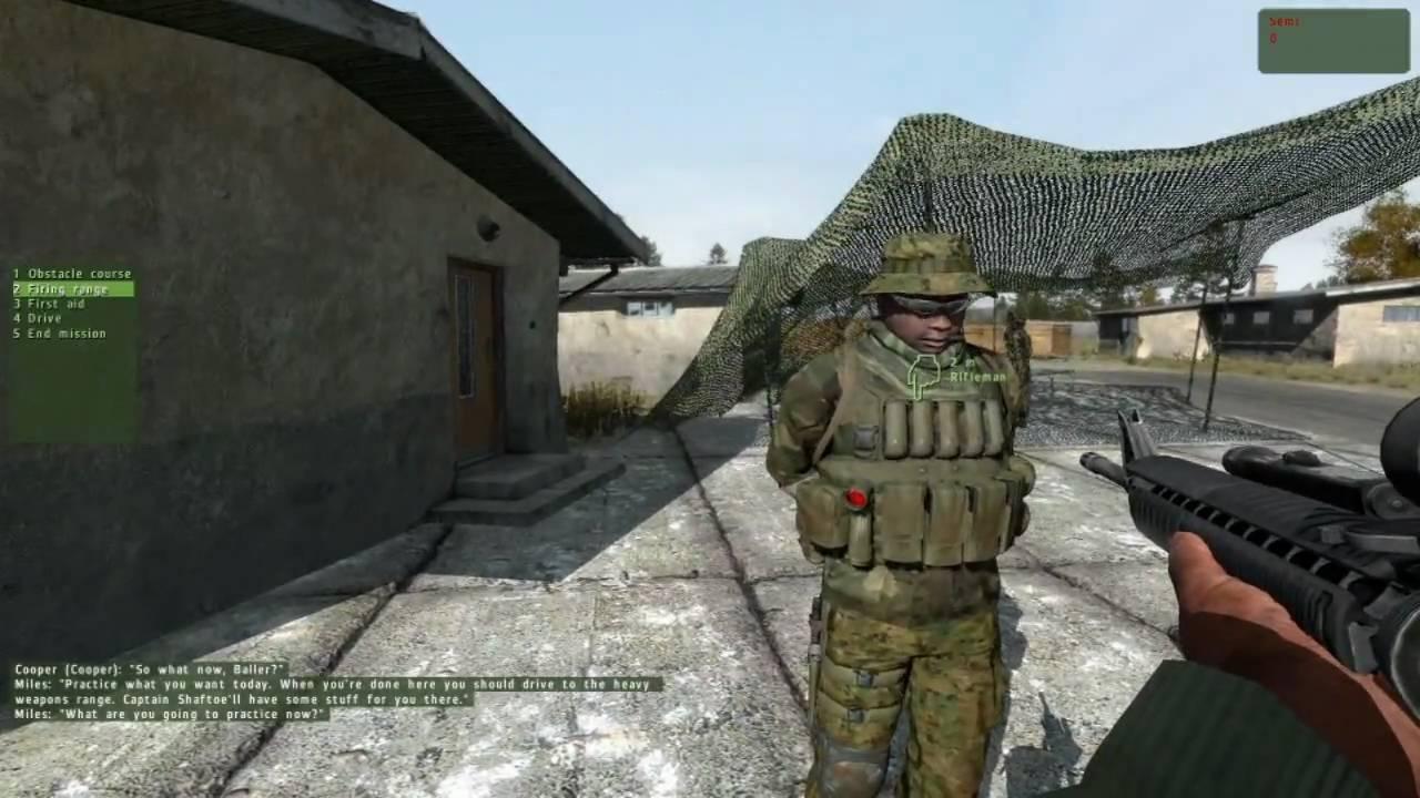 Arma 2 trackir gameplay HD - YouTube