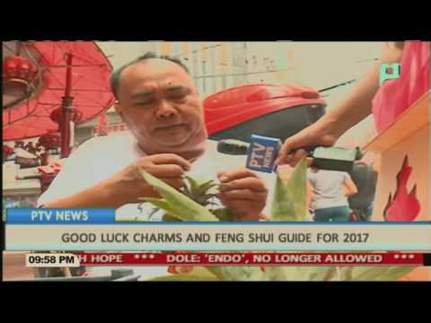 Good luck charms and Feng Shui guide for 2017