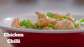 Chicken Chilli चिकन चिली By Chef HARPAL - Chinese Chilli Chicken Recipe - Chicken Chilli Gravy