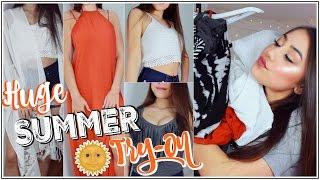 HUGE SUMMER TRY-ON HAUL! ♡ Part 1 ft. Windsor + UPDATES! ♡ xlivelaughbeautyx