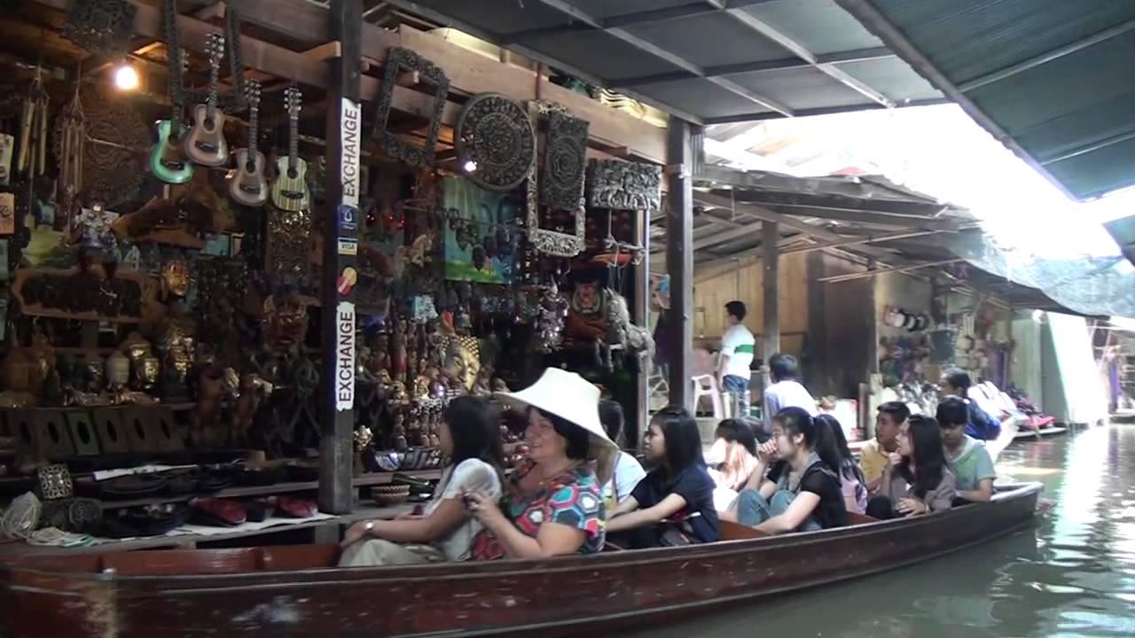 Download Damneun Saduak Floating Market Part 2