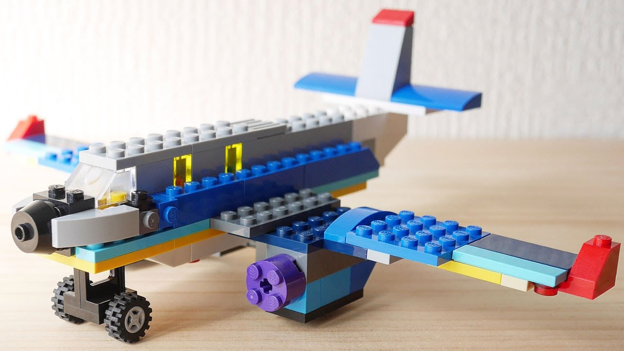 How to make a airplane out of legos